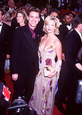 Jim Carrey and Lauren Holly 69th Annual Academy Awards Los Angeles, CA 3/24/1997