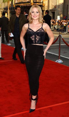 Premiere: Lauren Woodland at the LA premiere of Paramount's Lara Croft Tomb Raider: The Cradle of Life - 7/21/2003