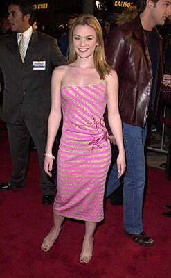 Premiere: Lauren Woodland at the Mann Village Theater premiere of Columbia's Saving Silverman - 2/7/2001