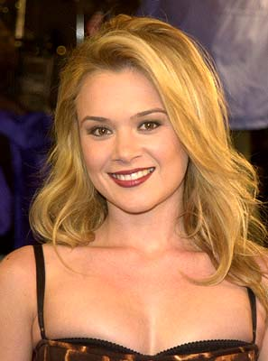 Premiere: Lauren Woodland at the LA premiere of Joe Somebody - 12/19/2001