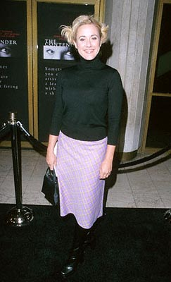 Premiere: Leah Lail at the Mann National Theater premiere of Dreamworks' The Contender - 10/5/2000