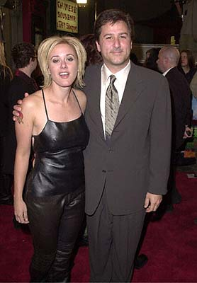 Premiere: Leah Lail and Steven Brill at the Mann's Chinese Theatre premiere of New Line's Little Nicky - 11/2/2000