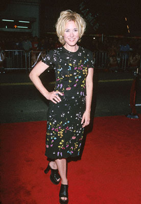 Premiere: Leah Lail at the premiere of Warner Brothers' Ready To Rumble - 2000