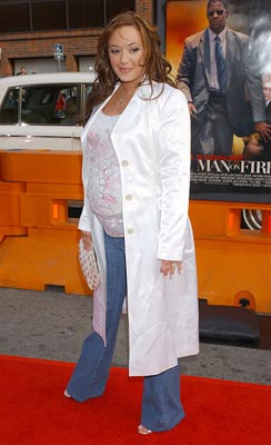 Premiere: Leah Remini at the LA premiere of 20th Century Fox's Man on Fire - 4/18/2004