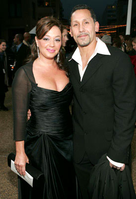 Leah Remini with husband Angelo Pagan 31st Annual People's Choice Awards Pasadena, CA - 1/9/05