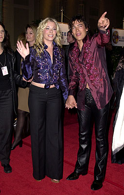 LeAnn Rimes and Andrew Keegan Blockbuster Entertainment Awards Los Angeles, 4/10/2001
