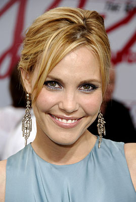 Premiere: Leslie Bibb at the LA premiere of Columbia's Talladega Nights: The Ballad of Ricky Bobby - 7/26/2006