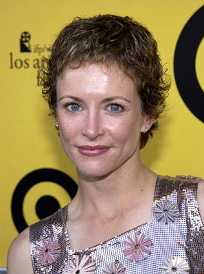 Premiere: Leslie Hope at the Hollywood premiere of Fox Searchlight's The Good Girl - 6/29/2002