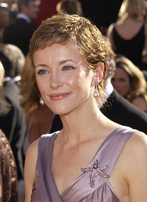 Leslie Hope Emmy Awards - 9/22/2002