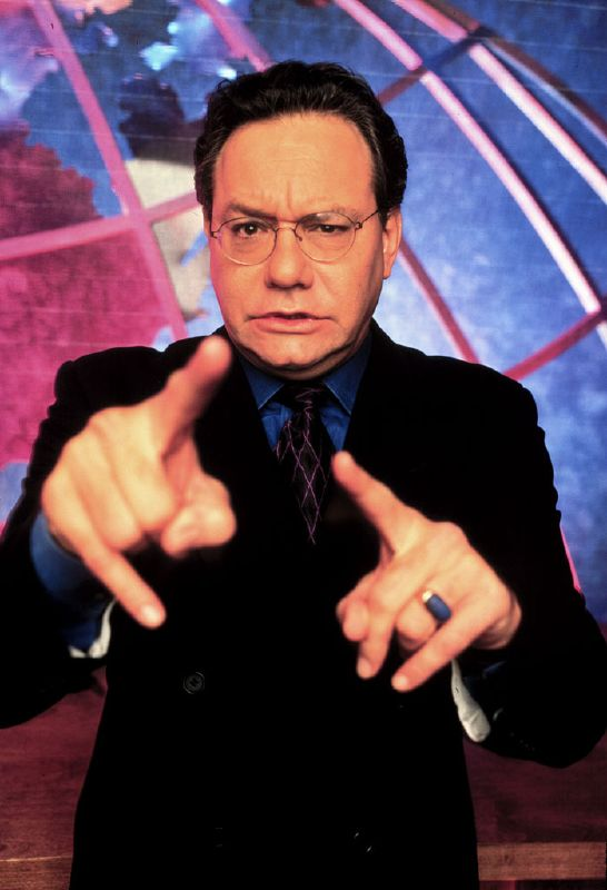 Lewis Black performs in The Daily Show on Comedy Central.