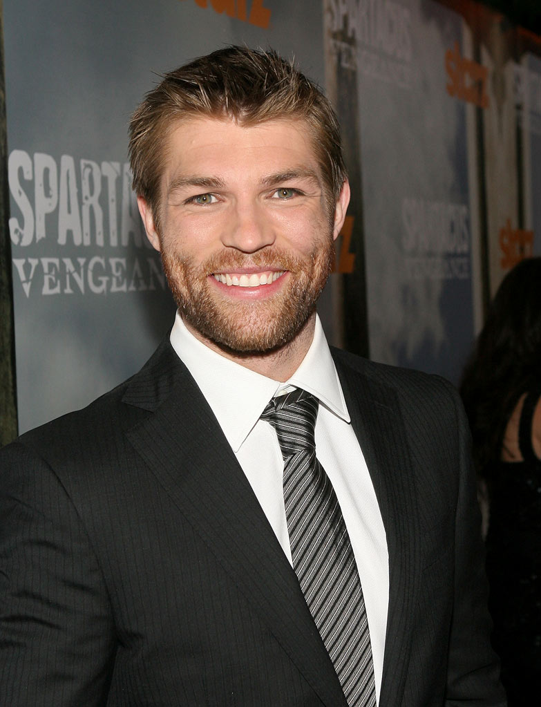 "Liam McIntyre attends the Starz Original Series ""Spartacus: Vengeance"" Premiere Event at ArcLight Cinemas Cinerama Dome on January 18, 2012 in Hollywood, California."