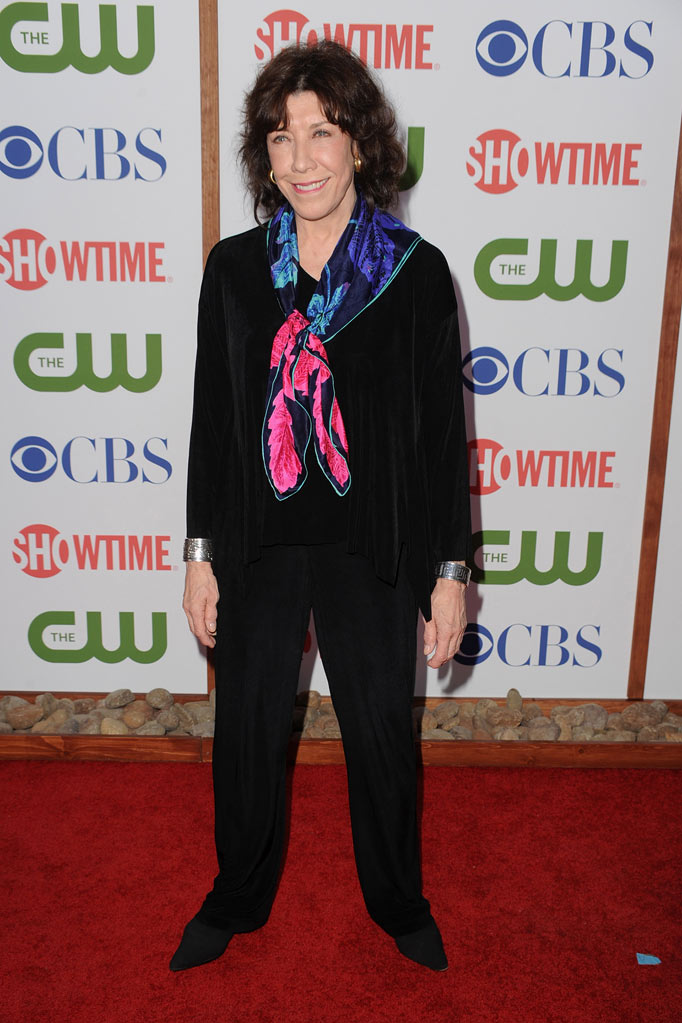 "Lily Tomlin of ""Web Therapy"" attends the CBS, The CW, and Showtime 2011 Summer TCA Party at The Pagoda on August 3, 2011 in Beverly Hills, California."