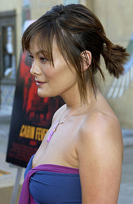 Premiere: Lindsay Price at the LA premiere of Lions Gate's Cabin Fever - 8/8/2003