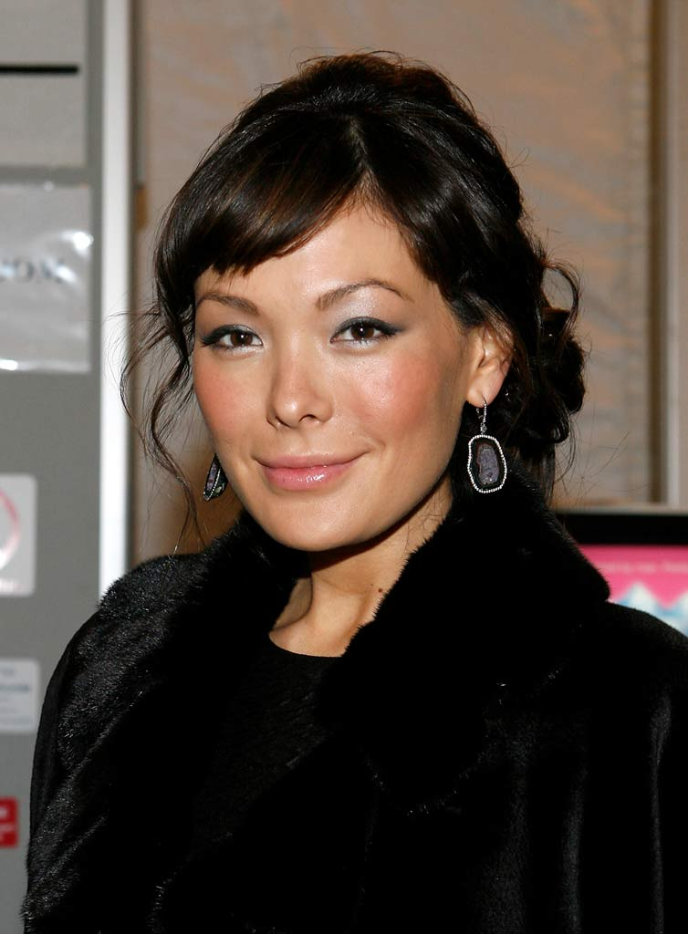 Lindsay Price attends Dennis Basso Fall 2008 during Mercedes-Benz Fashion Week at the Tents at Bryant Park.