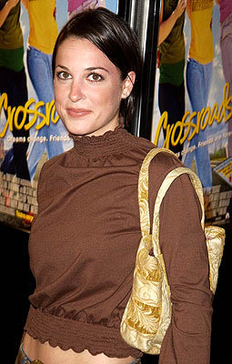 Premiere: Lindsay Sloane at the Hollywood premiere for Paramount's Crossroads - 1/11/2002