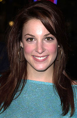 Premiere: Lindsay Sloane at the Westwood premiere of MGM's Antitrust - 1/10/2001