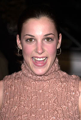 Premiere: Lindsay Sloane at the Hollywood premiere of MGM's Heartbreakers - 3/19/2001