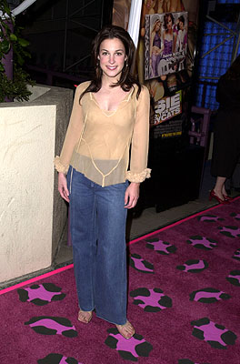 Premiere: Lindsay Sloane at the Hollywood premiere of Josie and the Pussycats - 4/9/2001