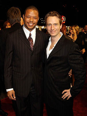 Premiere: Terrence Howard and Linus Roache at the LA premiere of MGM's Hart's War - 2/12/2002