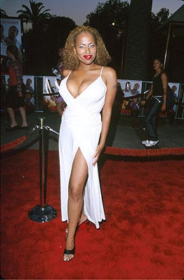 "Premiere: If the phrase ""va-va-va-voom!"" was ever applicable to anyone, it's for Lisa Nicole Carson at the Universal City premiere of Universal's Nutty Professor II: The Klumps - 7/24/2000"