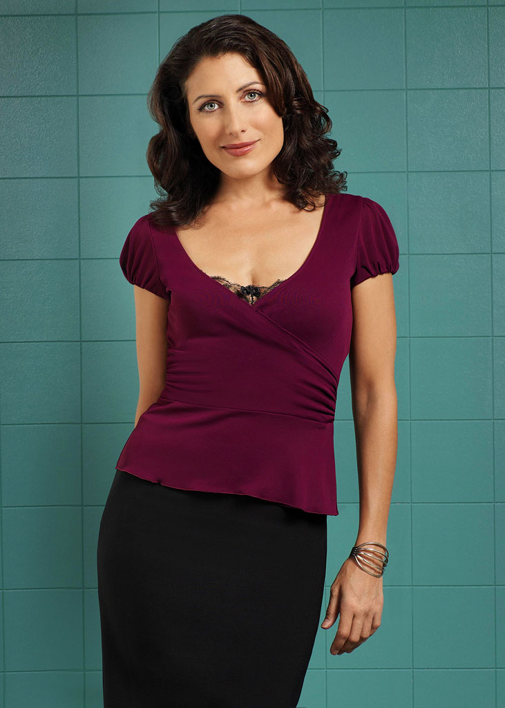 Lisa Edelstein stars as Dr. Lisa Cuddy on FOX Television Network's House.
