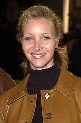 Premiere: Lisa Kudrow at the Mann National Theater premiere of Dreamworks' The Mexican - 2/23/2001
