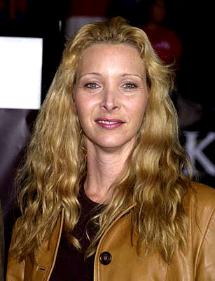 Premiere: Lisa Kudrow at the Westwood premiere of Warner Brothers' Rock Star - 9/4/2001