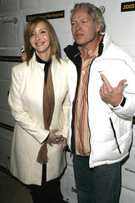 Lisa Kudrow with husband Michel Stern Happy Endings Premiere - 1/20/2005 Sundance Film Festival