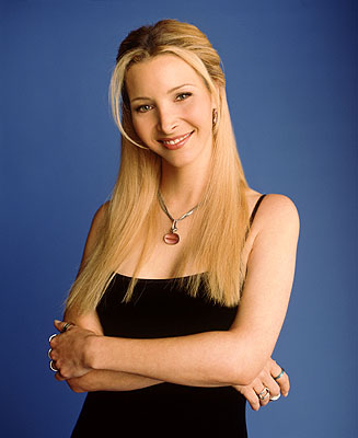 Lisa Kudrow as Phoebe Buffay in NBC's Friends