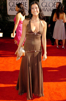 Lisa Ling 62nd Annual Golden Globe Awards - Arrivals Beverly Hills, CA - 1/16/05 Lisa Ling