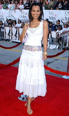 Premiere: LisaRaye McCoy at the Los Angeles premiere of 20th Century Fox's Mr. & Mrs. Smith - 6/7/2005