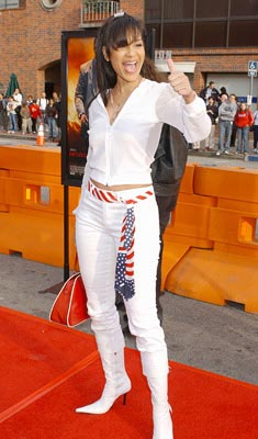 Premiere: LisaRaye at the LA premiere of 20th Century Fox's Man on Fire - 4/18/2004 LisaRaye McCoy