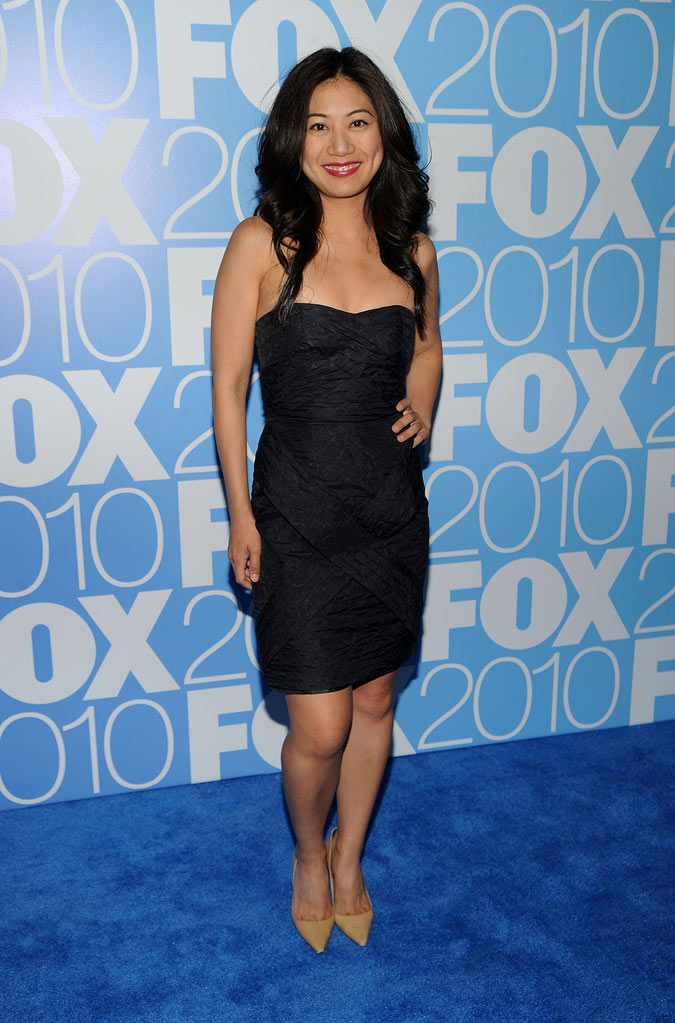 "Liza Lapira (""Mixed Signals"") attends the 2010 Fox Upfront after party at Wollman Rink, Central Park on May 17, 2010 in New York City."