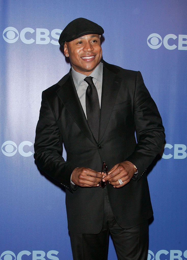 "LL Cool J (""NCIS: Los Angeles"") attends the 2010 CBS Upfront at The Tent at Lincoln Center on May 19, 2010 in New York City."