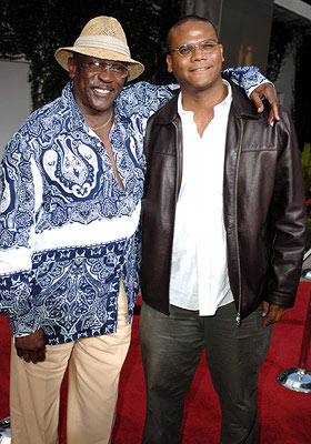 Premiere: Louis Gossett Jr. and Satie Gossett at the Hollywood premiere of Paramount Classics' Hustle & Flow - 7/20/2005
