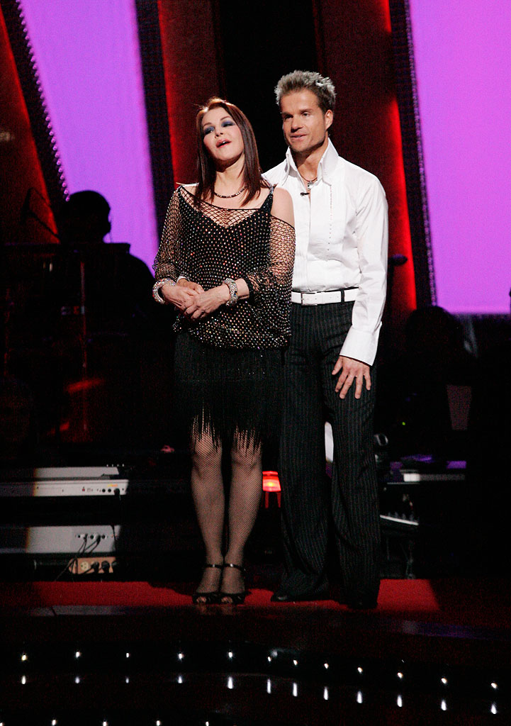 Priscilla Presley and her professional partner Louis van Amstel, are the fifth couple to be eliminated from the 6th season of  Dancing with the Stars.