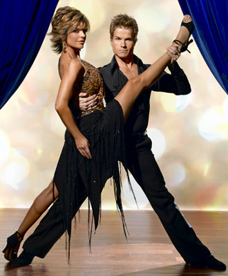 Lisa Rinna teams up with professional dancer Louis van Amstel for Season 2 of Dancing with the Stars