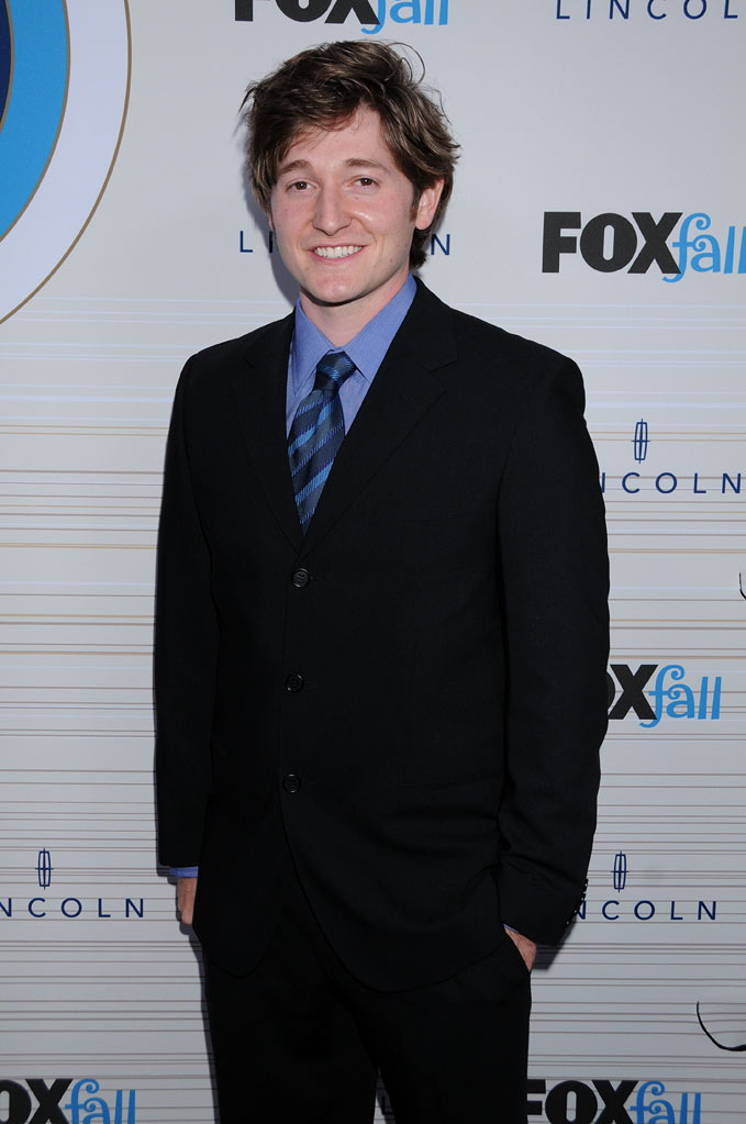 "Lucas Neff of ""Raising Hope"" arrives at the 2010 Fox Fall Eco-Casino party on September 13, 2010, at Boa in West Hollywood."