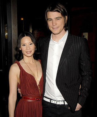 Premiere: Lucy Liu, Josh Hartnett at the NY premiere of The Weinstein Company's Lucky Number Slevin - 2/21/2006