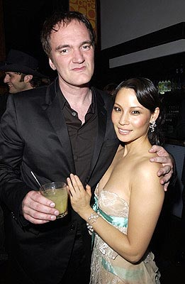 Premiere: Quentin Tarantino and Lucy Liu at the LA premiere of Miramax's Kill Bill Vol. 2 - 4/8/2004