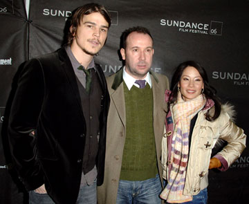 Josh Hartnett, director Paul McGuigan and Lucy Liu Lucky Number Slevin Premiere - 1/20/2006 2006 Sundance Film Festival