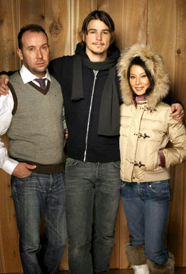 Director Paul McGuigan, Josh Hartnett and Lucy Liu Lucky Number Slevin Portraits - 1/21/2006 2006 Sundance Film Festival
