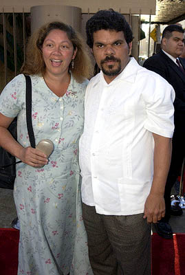 Premiere: Luis Guzman and wife at the Hollywood premiere of Warner Brothers' The Salton Sea - 4/23/2002