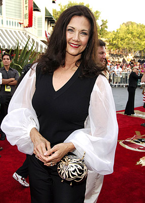 Premiere: Lynda Carter at the Disneyland premiere of Walt Disney Pictures' Pirates of the Caribbean: Dead Man's Chest - 6/24/2006