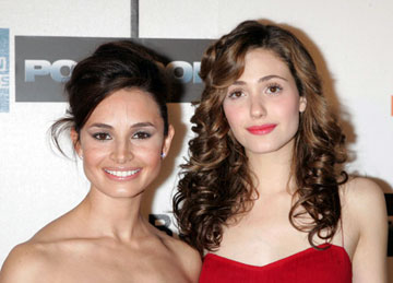 Premiere: Mia Maestro and Emmy Rossum at the Tribeca Film Festival premiere of Warner Bros. Pictures' Poseidon New York, NY - 5/6/2006