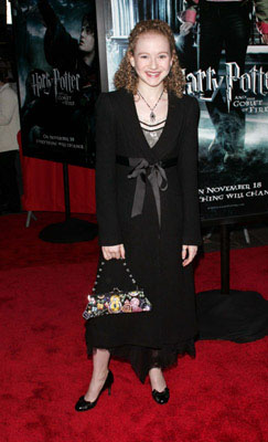Premiere: Macey Cruthird at the NY premiere of Warner Bros. Pictures' Harry Potter and the Goblet of Fire - 11/12/2005
