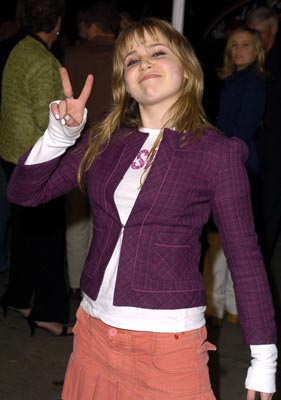Premiere: Mae Whitman at the LA premiere of Warner Bros.' Starsky & Hutch - 2/26/2004