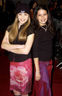 Premiere: Mae Whitman and Alia Shawkat at the Hollywood premiere for Paramount's Crossroads - 1/11/2002