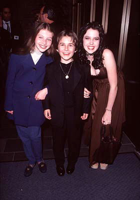 Premiere: Michelle Trachtenberg, Miko Hughes and Majandra Delfino at the Beverly Hills premiere of Universal's Mercury Rising - 4/1/1998