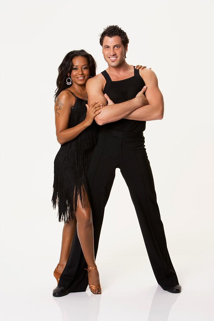 "Melanie Brown ""Mel B.,"" a.k.a. ""Scary Spice,"" teams up with professional dancer Maksim Chmerkovskiy for the Season 5 of Dancing with the Stars."